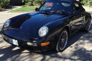 1998 993 cabriolet 1