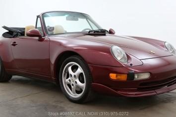 1997 993 cabriolet