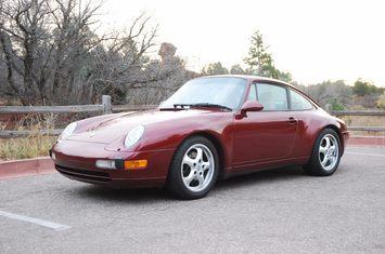 1996 993 carrera coupe 1