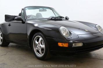 1995 993 cabriolet