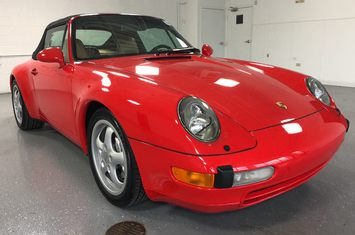 1995 porsche 911 carrera 4 cabriolet