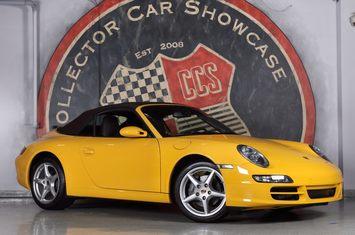 2007 911 carrera cabriolet