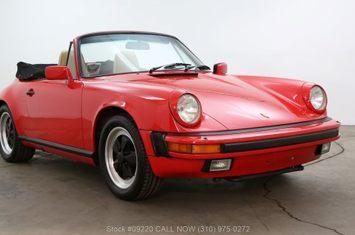 1986 carrera cabriolet