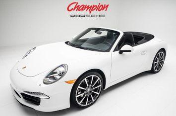 2015 porsche 911 carrera cabriolet