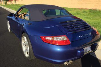 2006 911 c4s cabriolet