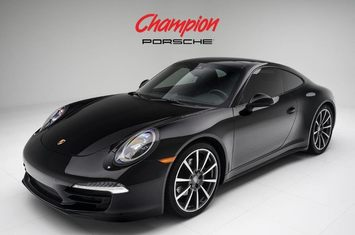 2016 porsche 911 carrera 4 black edition