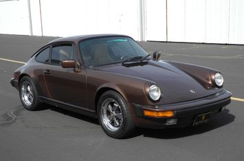 1985 porsche 911 3 2l coupe nutmeg metallic