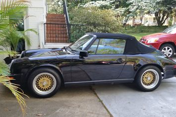 1986 911 carrera convertible