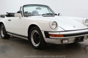 1983 911sc cabriolet