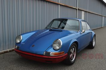 1966 porsche 911 the blue meanie
