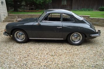 1963 356 b super 90 coupe