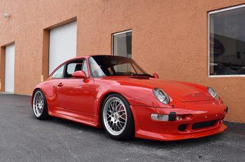 1996 porsche 911 carrera c4s 993 factory wide body turbo look