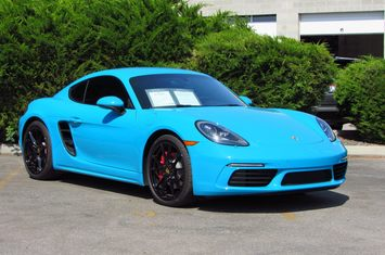 2017 718 cayman s coupe