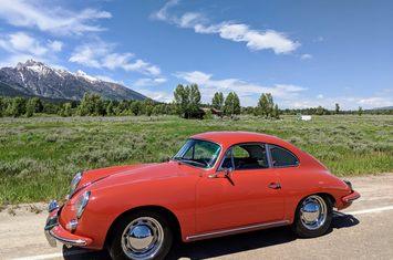 1960 356 b coupe