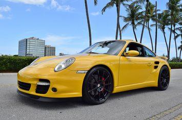 2007 porsche 911 turbo speed yellow 997 1 manual