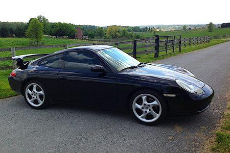 2000 911 carrera aero coupe
