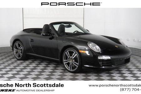 2012 911 2dr cabriolet carrera black edition
