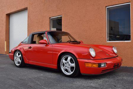 1992 porsche 911 targa carrera 2 964