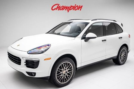 2017 Porsche Demo Sale Cayenne Platinum Edition picture #1