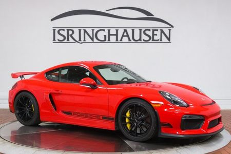 2016 Cayman GT4 picture #1