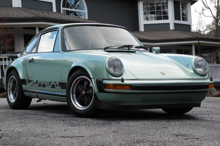 1975 911 Carrera 2.7l Original Paint/icegreen Met! picture #1