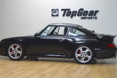 1997 porsche 993 twin turbo black on black low miles