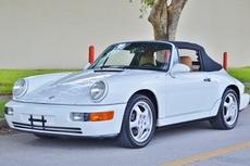 1994 porsche 911 carrera 964 cabriolet c2 g50