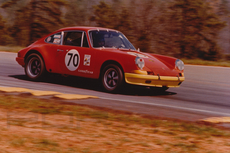 1972 porsche 911s period race car