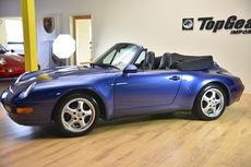 1997 porsche 911 cabriolet rare zenith blue