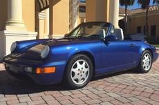 1991 911 c2 964 cabriolet