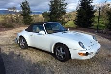 1995 993 911 carrera cabriolet