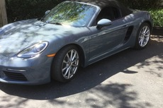 2017 boxster 718