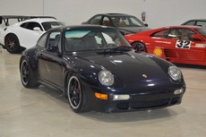1996 porsche 911 c4s 993 wide body turbo look coupe