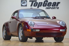 1997 porsche 993 c2 coupe 6 speed