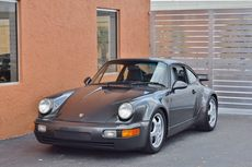 1991 porsche 911 turbo 964 rare slate gray metallic