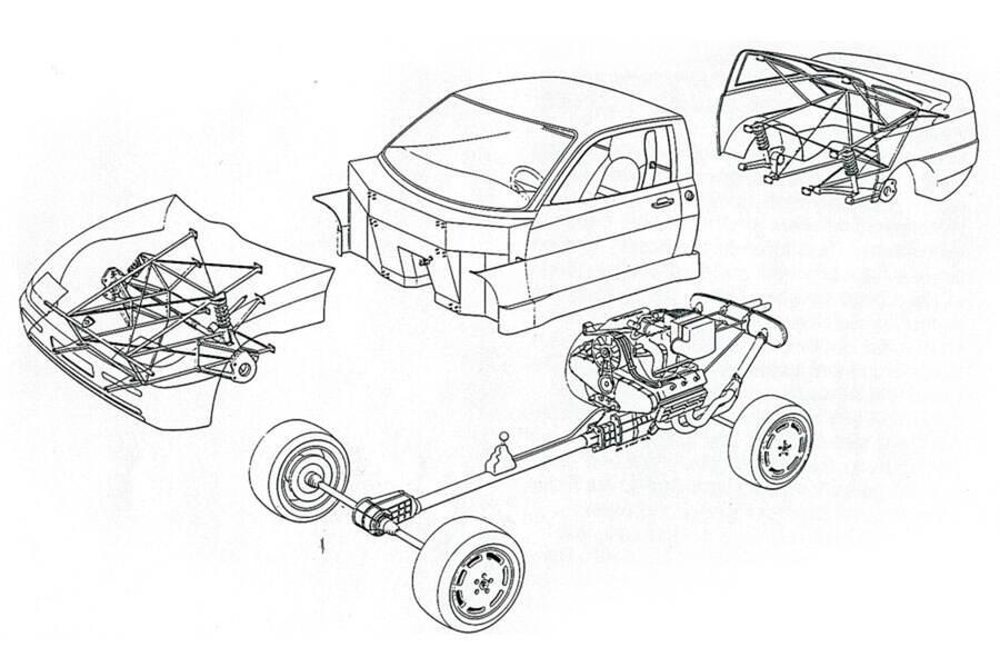 The Porsche PEP 2