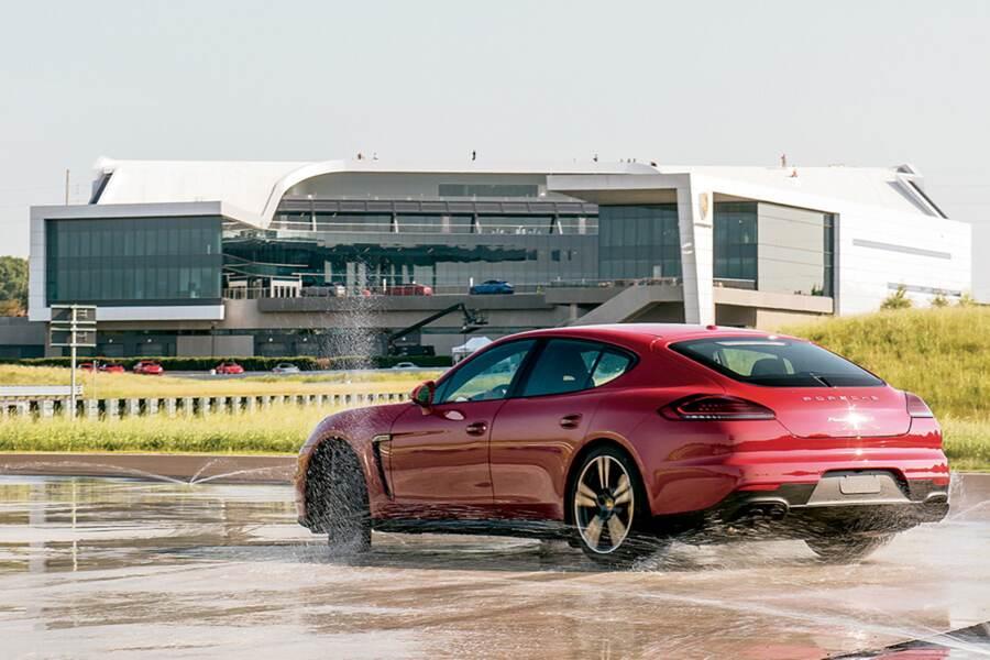 One Porsche Drive 7