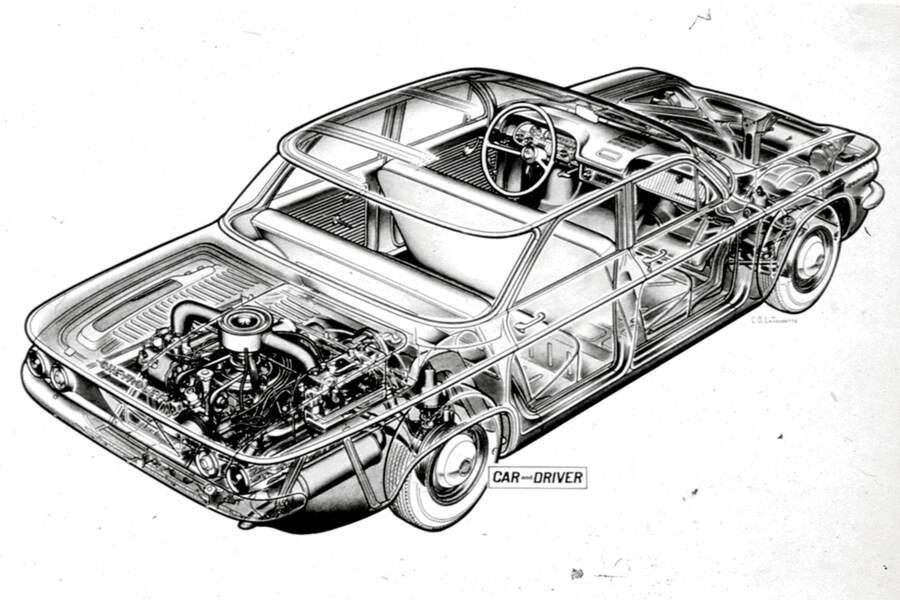 Didn't Porsche Design the Corvair? 4