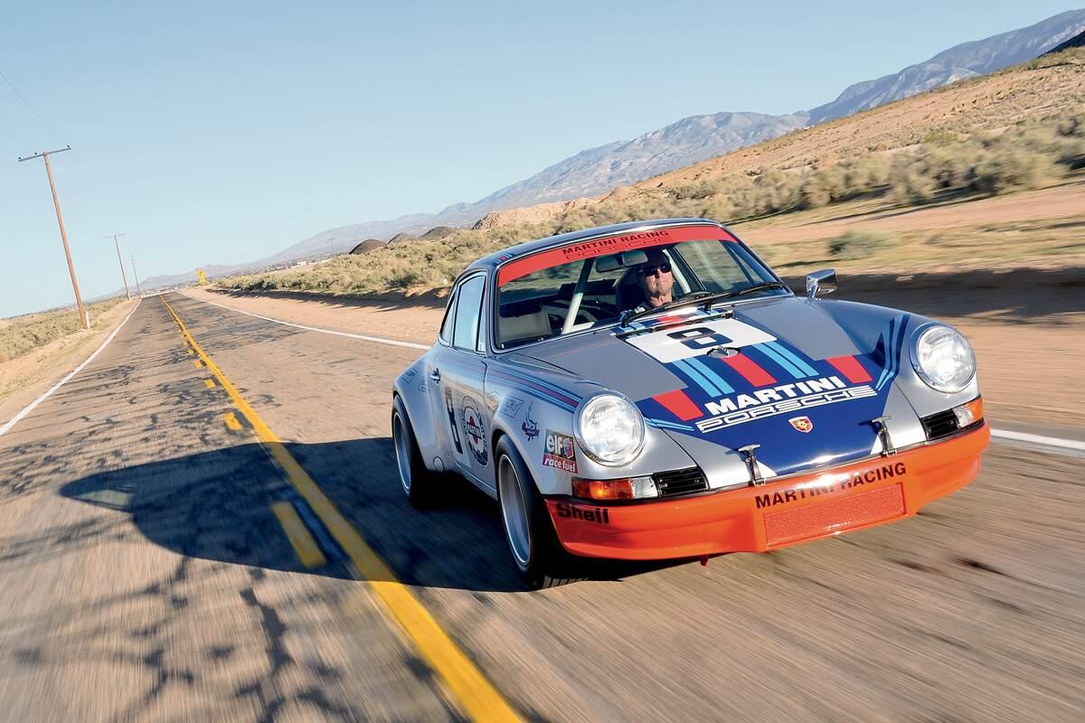 Martini Racing Porsche  911 Rsr 1973 Targa Florio Winner Reproduction Metal Sign