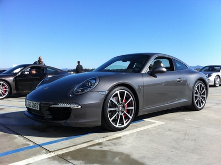 First Drive: The New 911 2