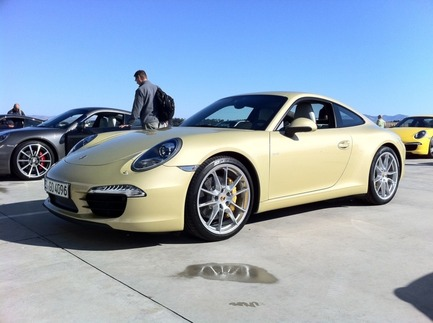 First Drive: The New 911 4