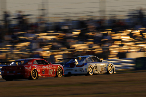Nearing Sunset, 2011 Rolex 24