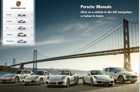 Porsche iManuals