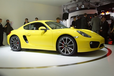 New Cayman debuts at LA Auto Show 8