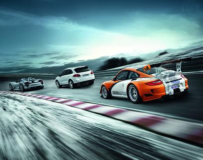 Porsche hybrid line up.