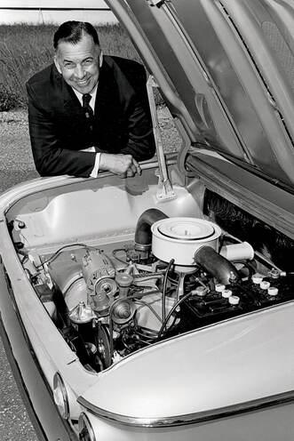 Didn't Porsche Design the Corvair? 6