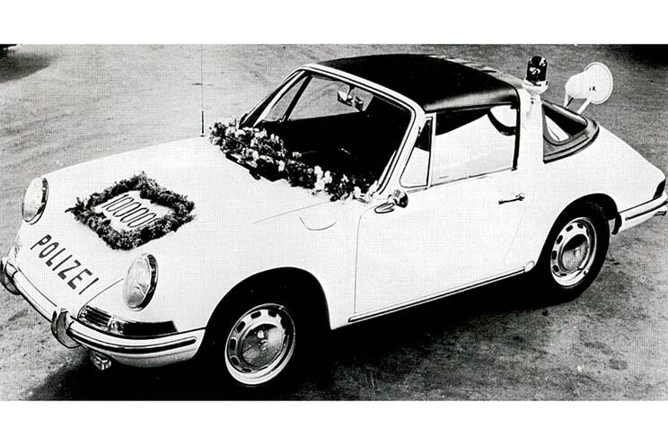 The Birth of the Targa 7