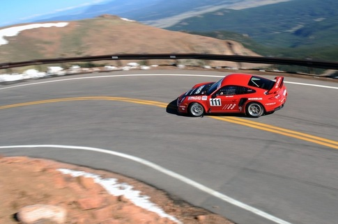 Zwart back at Pikes Peak in GT2 RS 2
