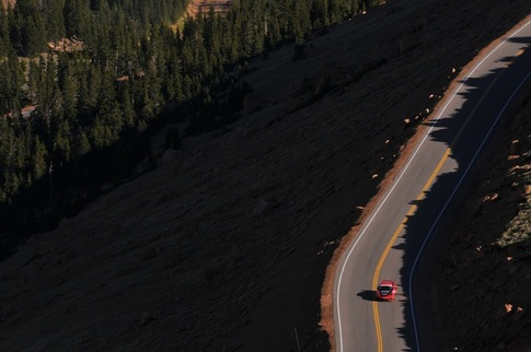 Zwart back at Pikes Peak in GT2 RS 5