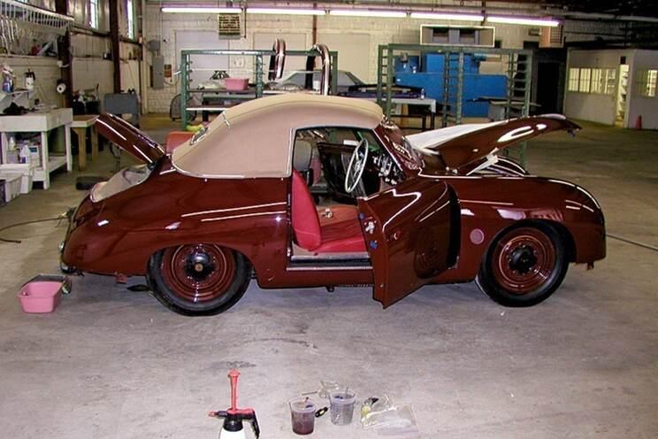 1951 356 Gläser Cabriolet 7